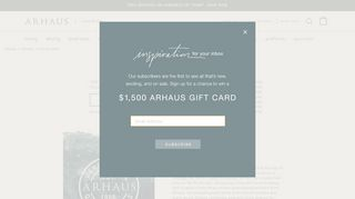 Arhaus Furniture Chicago