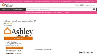 Ashley Furniture Los Angeles