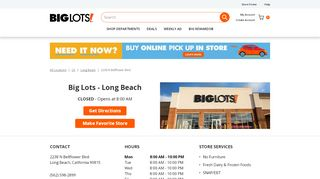 Big Lots Long Beach